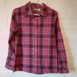 Woman's Cabelas Flannel Small